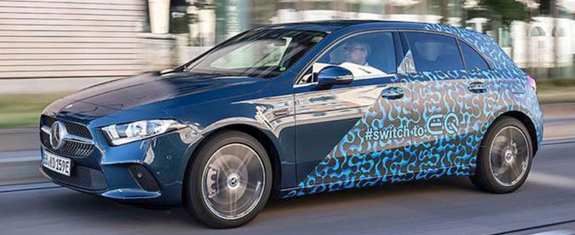 奔驰再推新能源车型,A级插电混动A250e即将亮相