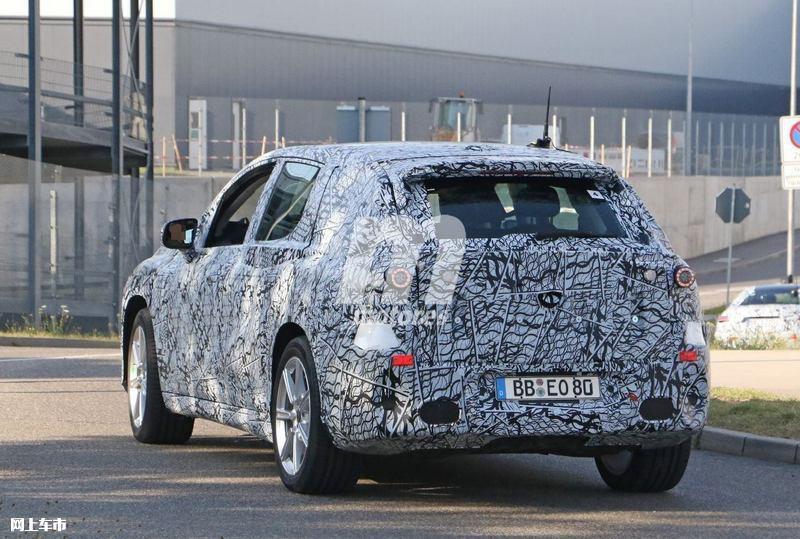梅赛德斯-奔驰EQS SUV曝光垂直大屏/3级自动驾驶-图11