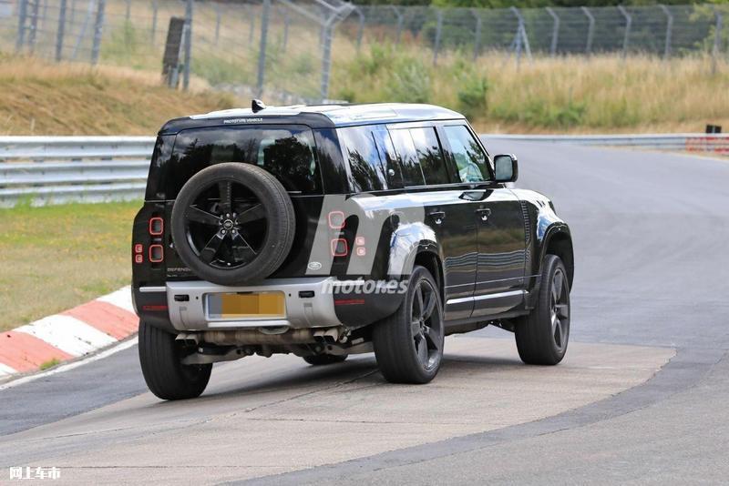 路虎卫士V8车型路试谍照 搭宝马发动机/2021年发布-图9