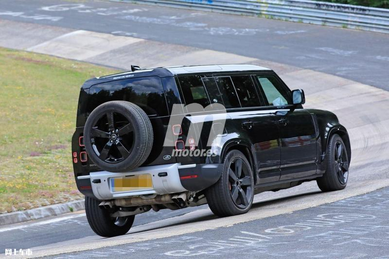 路虎卫士V8车型路试谍照 搭宝马发动机/2021年发布-图24