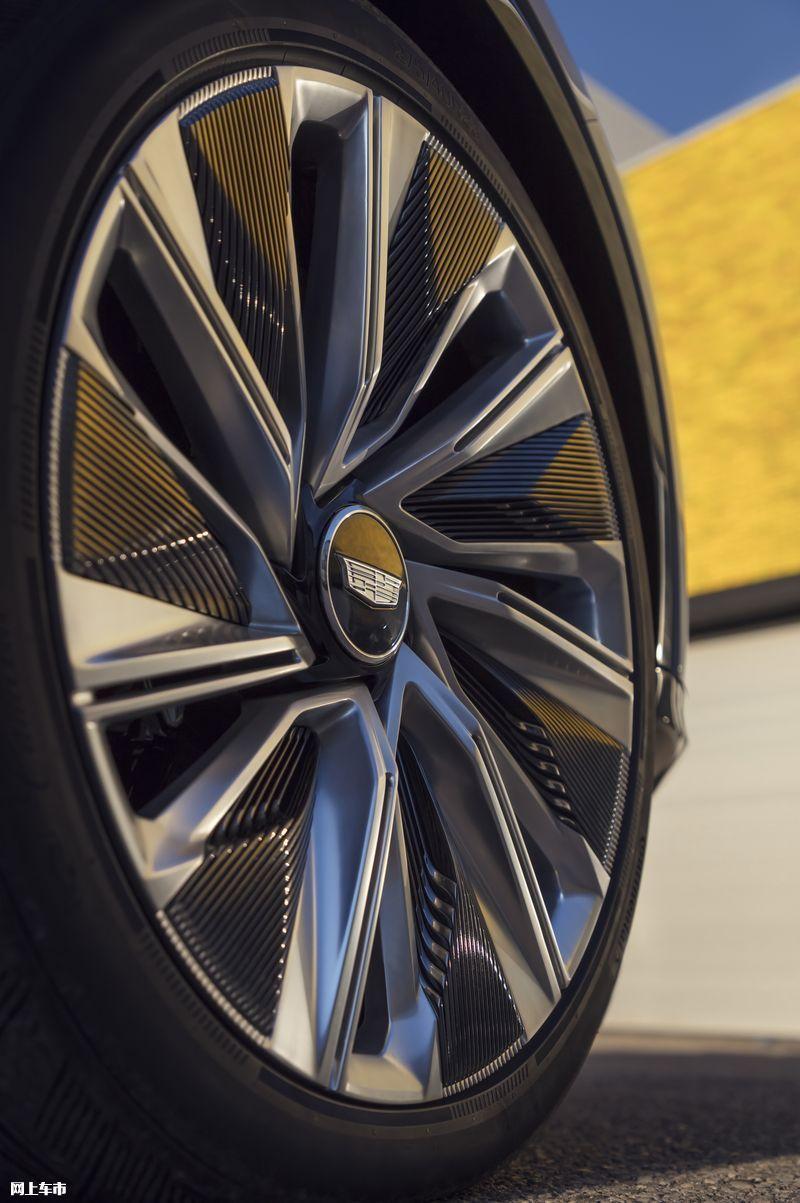 凯迪拉克推纯电概念车8月6日发布/配34英寸大屏-图7