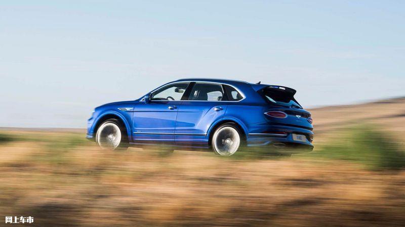 宾利添越Speed版车型发布 6.0T W12引擎/年底上市-图2