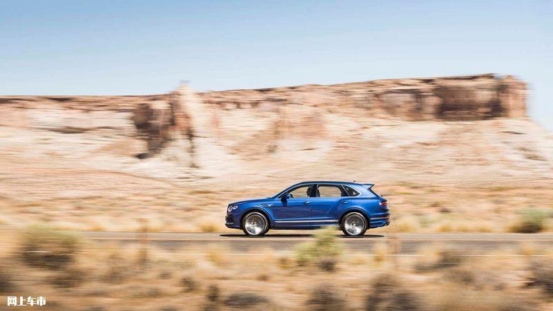 宾利添越Speed版车型发布 6.0T W12引擎/年底上市-图5