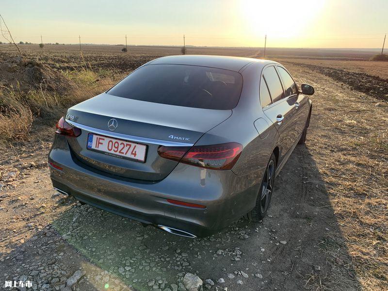 奔驰新款E级实拍曝光下周五上市/尺寸超奥迪A6L-图10