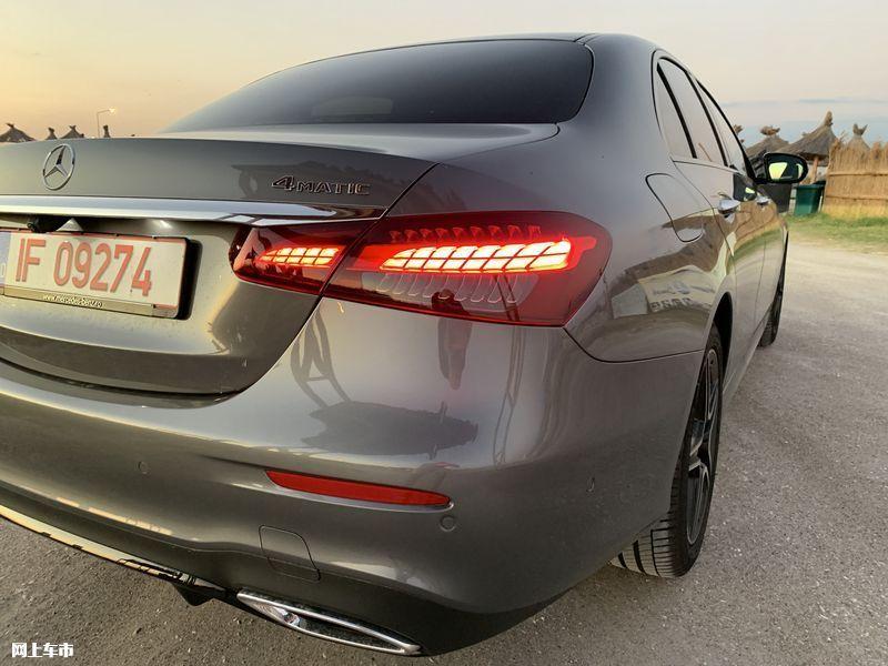 奔驰新款E级实拍曝光下周五上市/尺寸超奥迪A6L-图13