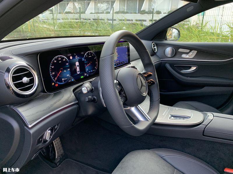 奔驰新款E级实拍曝光下周五上市/尺寸超奥迪A6L-图21