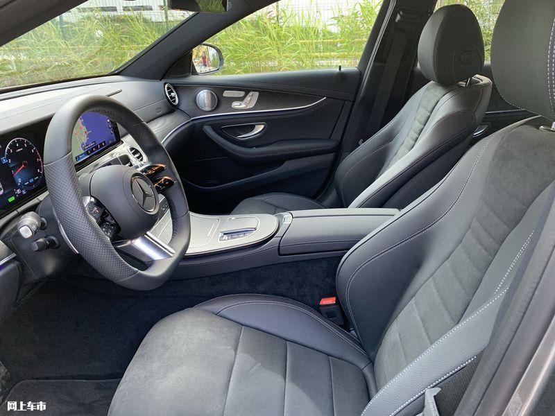 奔驰新款E级实拍曝光下周五上市/尺寸超奥迪A6L-图23