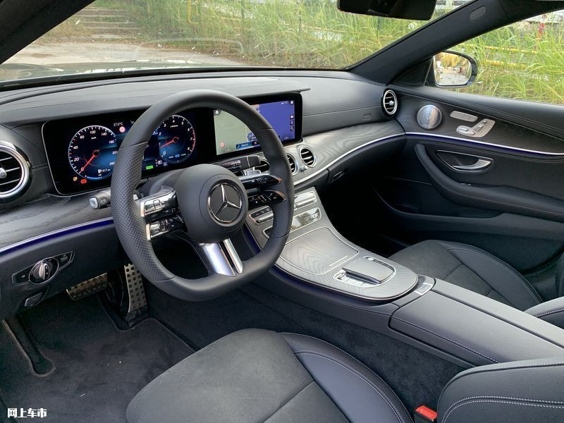 奔驰新款E级实拍曝光下周五上市/尺寸超奥迪A6L-图24