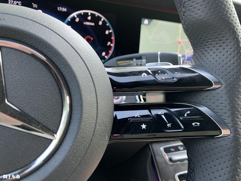 奔驰新款E级实拍曝光下周五上市/尺寸超奥迪A6L-图28