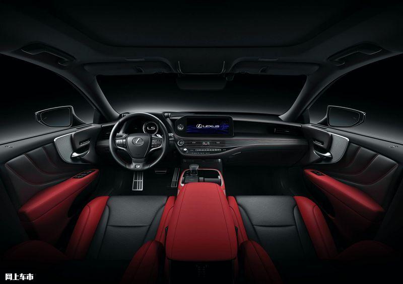 雷克萨斯新款LS亮相配置升级/年内上市开售-图21