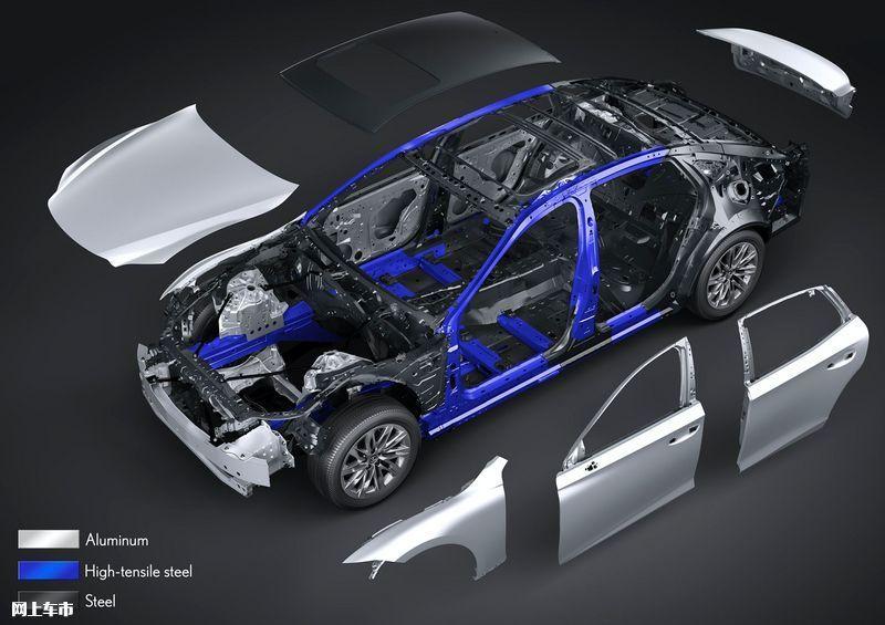 雷克萨斯新款LS亮相配置升级/年内上市开售-图46