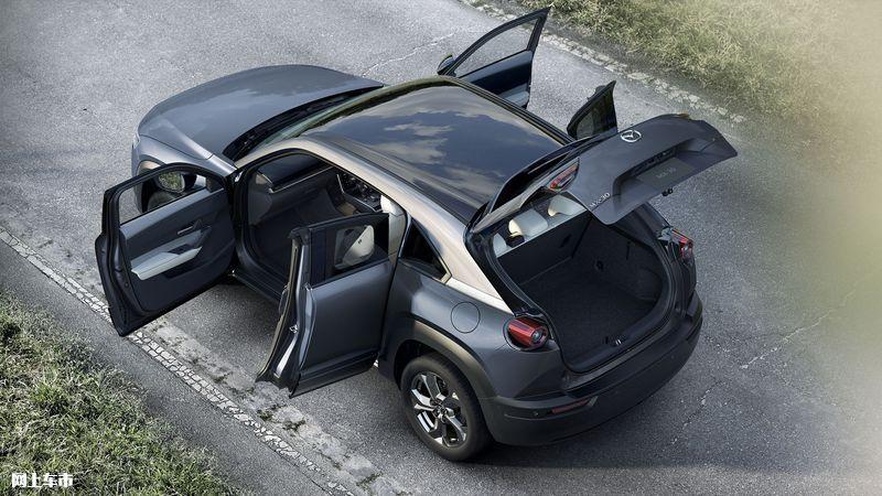 马自达新款MX-30开售增搭轻混系统/配四驱系统-图6