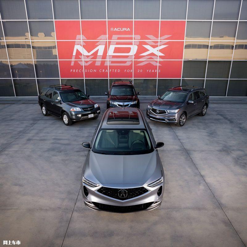 讴歌全新MDX原型车发布!搭3.5L/配双12.3寸屏幕