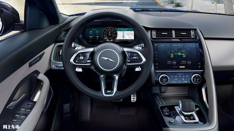 捷豹新款E-PACE推出首推1.5T车型/升级液晶仪表-图9