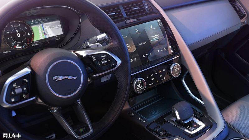 捷豹新款E-PACE推出首推1.5T车型/升级液晶仪表-图10