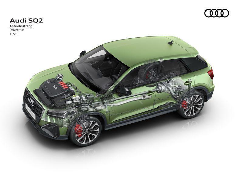 奥迪新款SQ2售价曝光搭2.0T引擎/安全配置提升-图9