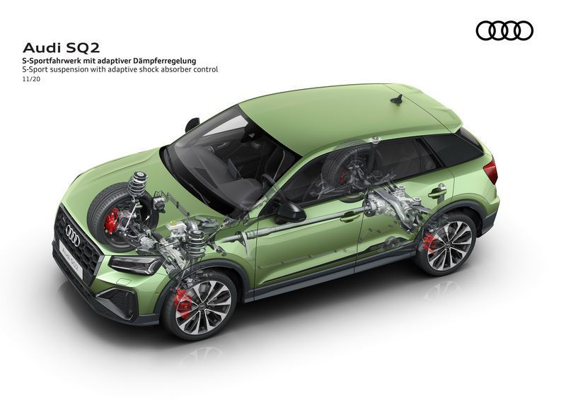 奥迪新款SQ2售价曝光搭2.0T引擎/安全配置提升-图11