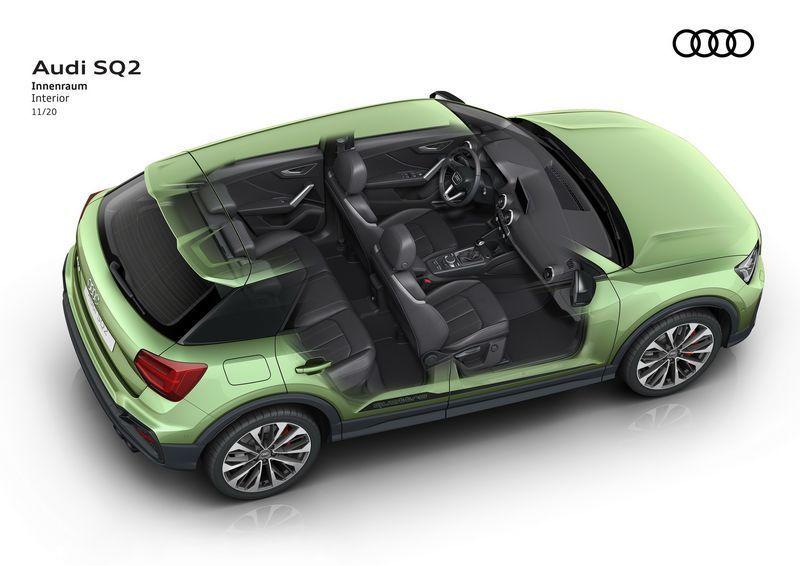 奥迪新款SQ2售价曝光搭2.0T引擎/安全配置提升-图13